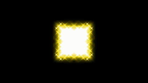 yellow square light and... Stock Video Footage