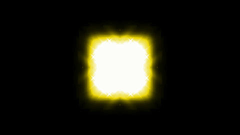yellow square light and stars.Jewelry,diamonds,afterlife,beams,dreamy,energy,entertainment,flare Animation