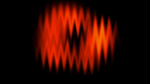 red waveform background.radio,recording,signal,sound,voice,material Animation