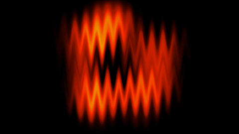 red waveform... Stock Video Footage