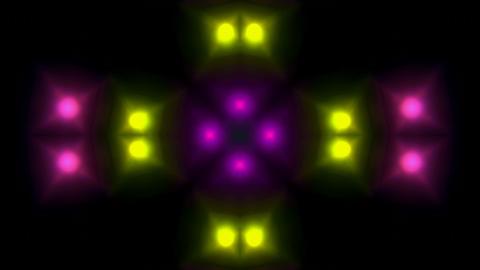 color disco light... Stock Video Footage