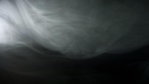 Gray fire smoke Footage