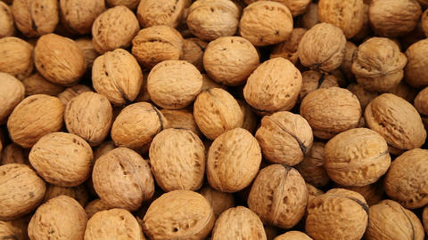 Walnuts Background stock footage