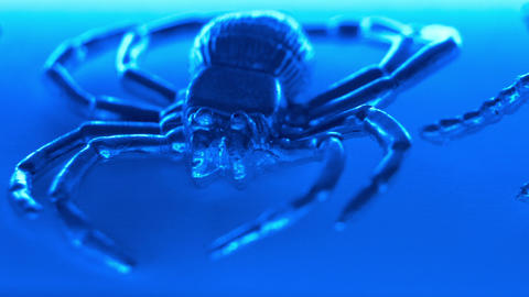 Spider Abstract Horror Background stock footage