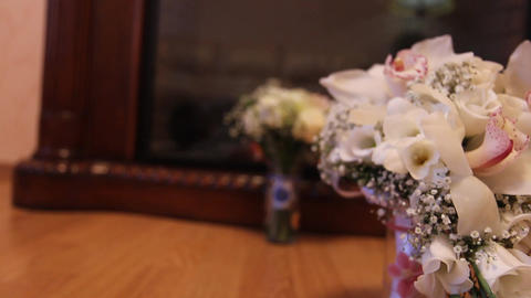 the bridal bouquet Footage