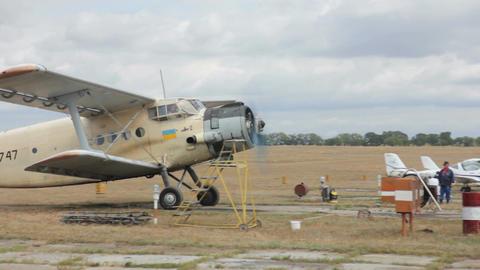 Landing of Ukrainian Plane Live Action