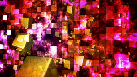 Broadcast Hi-Tech Cubes Travel 01 Animation