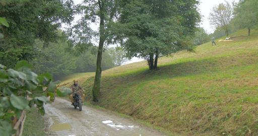 german military vehicle mountain 01 Footage
