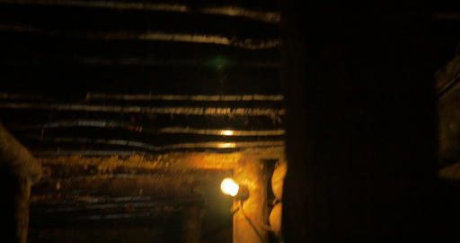 German Soldier Bunker 16 stock footage