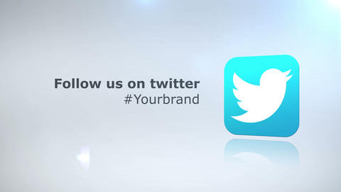 Social Media Corporate Facebook Tweeter Text Intro After Effects Template