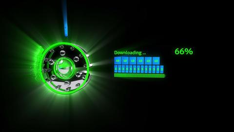 Fast 3D Download Bar CG動画