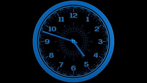 Clock Loop Animation