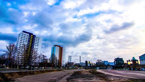 Modern Architecture in Berlin Footage