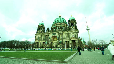 The Berliner Dom Footage