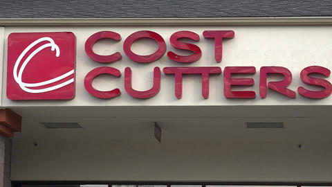 Cost Cutters Salon Storefront Live Action