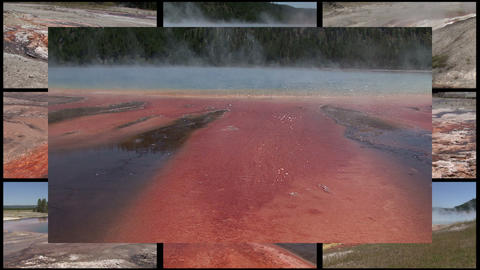 Multi Yellowstone stock footage