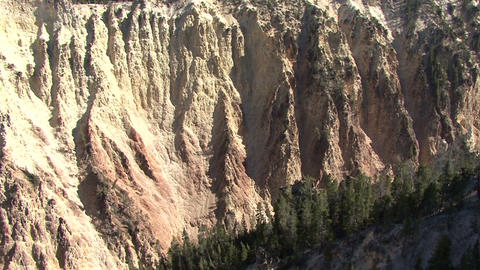 Yellowstone National Park. Yellowstone Hill Footage