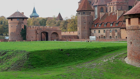 The Castle Of The Teutonic Order In Malbork 1