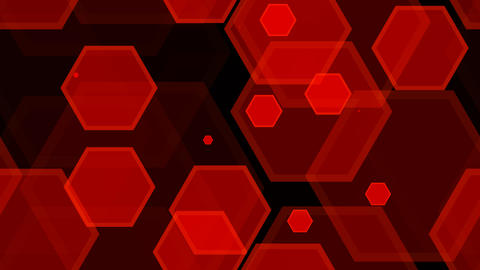 tileable red hexa pattern with alpha Animation