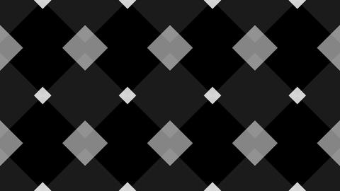 tileable monochrome kite pattern with alpha Animation