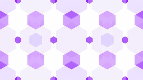 tileable purple soft honeycomb Animation