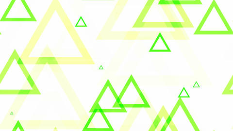 tileable triangle green pop Animation