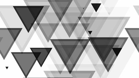 tileable triangle black pattern Animation