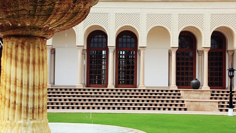 20140222 Dk Hotel Amar Vilas Agra 0022 stock footage