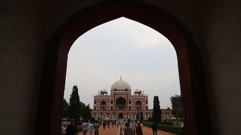 20140306 Jh Humayun Tomb 0013 stock footage