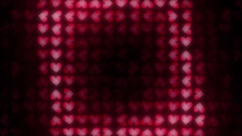 Hearts LED 8 Loops In 4K 1