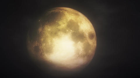 Full Moon 3 D Animation 3 appprores Stock Video Footage
