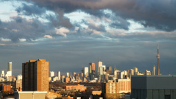 4k Timelapse of Toronto Skyline Footage