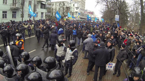 Strike in Ukraine - encounter of opposing forces! Footage