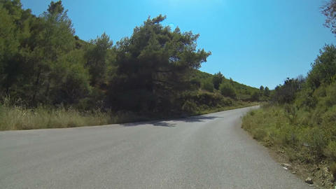 Mountain Road On Zakynthos Island, Greece - 15 Tim Footage