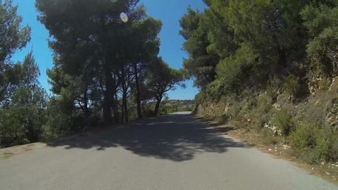 Mountain Road On Zakynthos Island, Greece - 15 Tim Footage