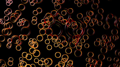 disco glossy rings Animation