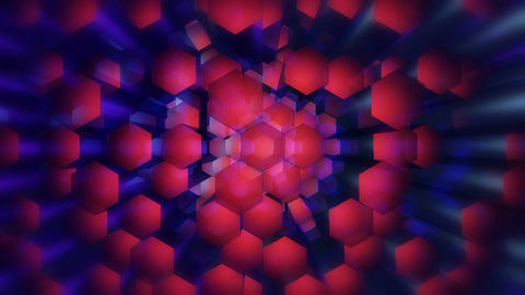 disco hexagonal stick Animation