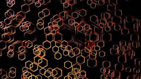 hexa disco glossy Animation