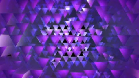 purple triagonal optic Animation