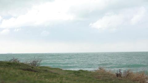 Panorama of beautiful bay Acción en vivo