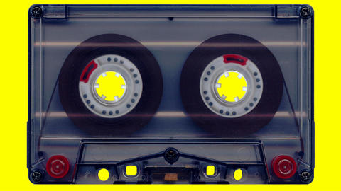 Audio tape (yellow screen) Animation