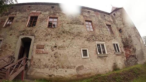 Report Spring In Chynadiyevo Castle Near Mukachevo, Traditionally Held An Intern stock footage