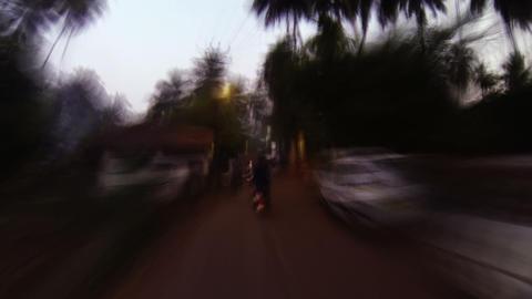Moto walk Footage