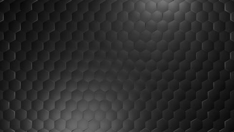 white metal hexagonal Animation