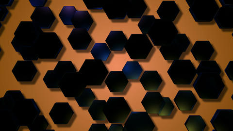 20 HD Hexagonal Pattern Backgrounds #06