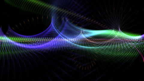 4k Abstract curve lines fantasy art background,universe space science fiction Live Action