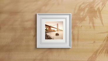 Framed Slideshow Creator stock footage