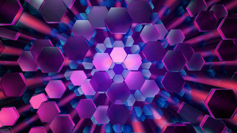 20 HD Hexagonal Pattern Backgrounds #06 1