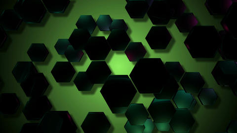 tosca hexagonal lights Animation