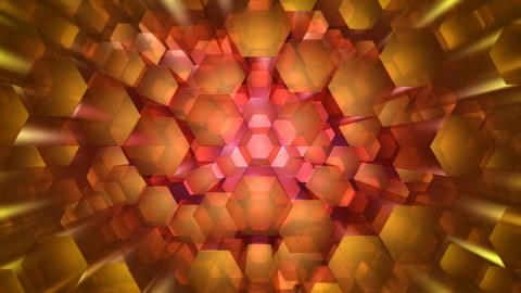 wide lens hexagonal Animation